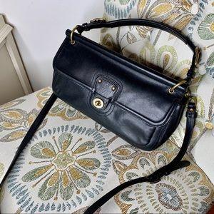 Coach Legacy City Willis Hobo Style Black Handbag